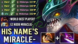 Video THIS IS WHY HIS NAME'S Miracle- Slark Epic Feed To God Gameplay Comeback WTF Dota 2 MP3, 3GP, MP4, WEBM, AVI, FLV November 2018