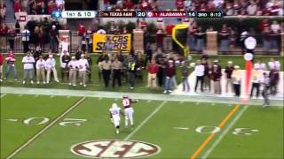 Cyrus Kouandjio vs Texas A&M (2012)