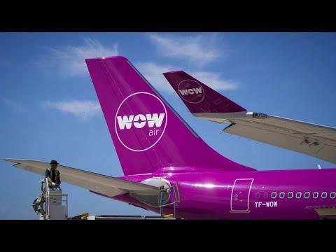 Wow Air ist insolvent: Passagiere weltweit gestrandet