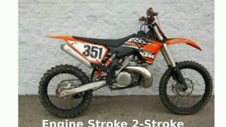 3. 2010 KTM SX 250 - Details and Features