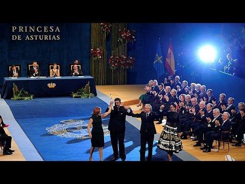 Απονεμήθηκαν τα 35α βραβεία «Πριγκίπισσα των Αστουριών»