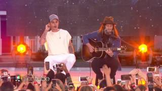 Video Justin Bieber Performs 'Love Yourself' on the ELLEN SHOW MP3, 3GP, MP4, WEBM, AVI, FLV November 2018
