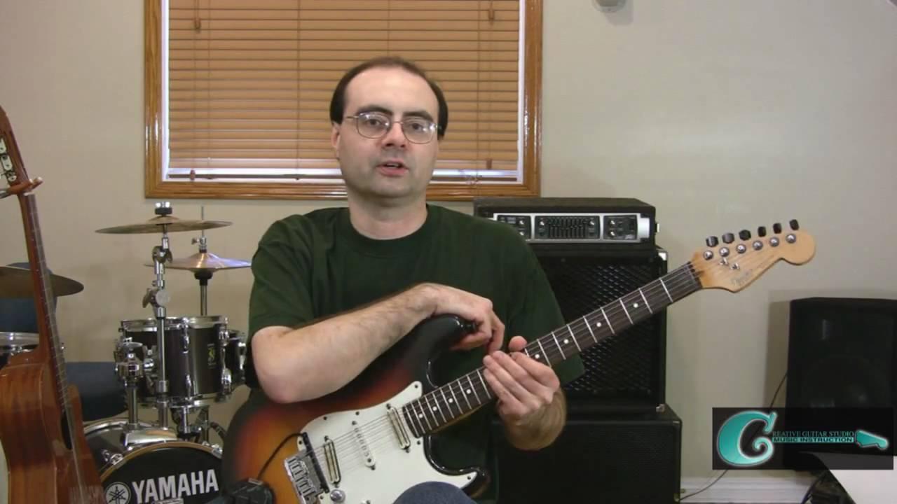 Guitar String Bending Technique