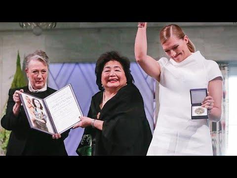 Νόμπελ Ειρήνης: Συγκλόνισε η επιζήσασα της Χιροσίμα