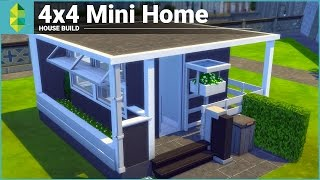 The Sims 4 House Building - 4x4 Mini Home