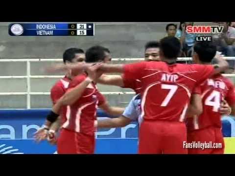 Indonesia - Vietnam [Set 1] Qualifier Men's World 27-06-2013