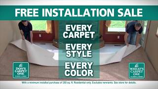 Free Installation Sale and We'll Install Your New Floor Before the Holidays