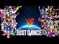 JUST DANCE TOPS: (Villanos VS Superhéroes)