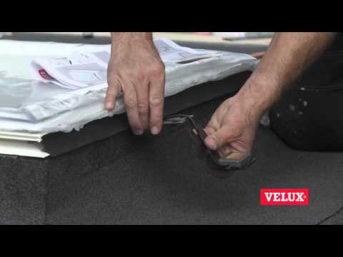 Montaż okna do płaskich dachów