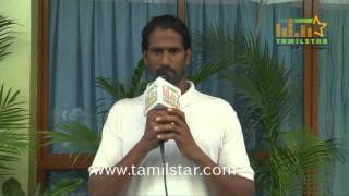 Yoga Krish at Thiru Vi Ka Poonga Movie Team Interview