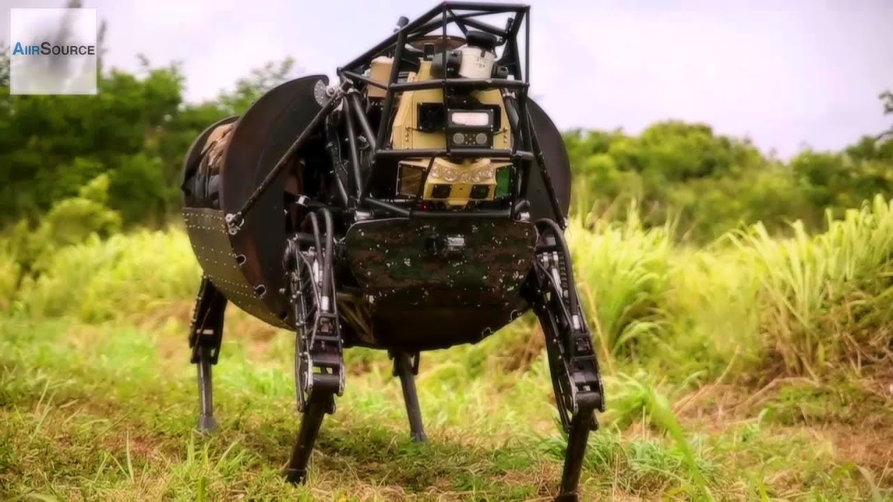 U.S. Marines' Newest Robot – Legged Squad Support System (LS3)