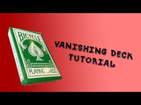 Vanishing Deck Gimmick - TUTORIAL