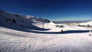 Sierra Nevada Spain  city photos gallery : Skiing, Sierra Nevada, Spain, 23-Feb-2016