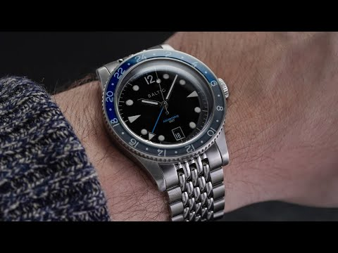 A NEW Attractive GMT Watch For Around $1000 - Baltic Aquascaphe GMT Review - 2021