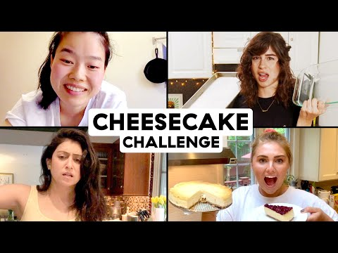 Zoom Call Cooking Challenge: Amateurs Try To Bake Cheesecake