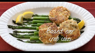 Easiest ever crab cakes