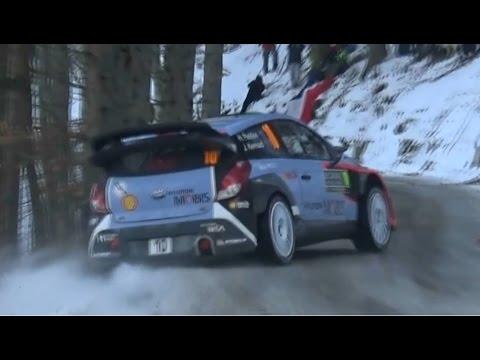 Vídeo salida de pista Paddon WRC Rallye MonteCarlo 2016