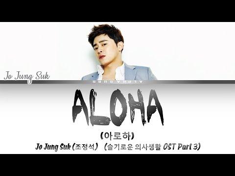 Jo Jung Suk (조정석) - ALOHA [아로하] Lyrics/가사 [Han Rom Eng] 슬기로운 의사생활 OST Part 3 / Hospital Playlist OST