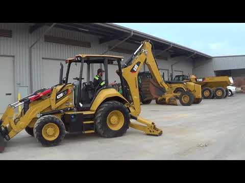 CATERPILLAR BAGGERLADER 420F2IT equipment video LIiN5y4kQHA