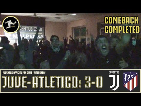 Juventus-Atlético Madrid: 3-0 |Live Reaction| - JCD MALPENSA