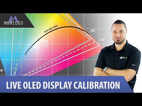 Live OLED Display Calibration with Jason Dustal