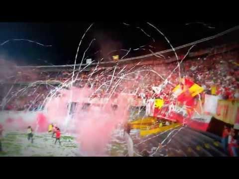 Salida Santa Fe Vs Gremio - Octavos de Final - La Guardia Albi Roja Sur - Independiente Santa Fe - Colombia - América del Sur