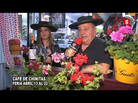 CAFE CHINITAS FERIA  ABRIL 2018