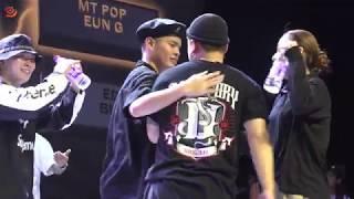 Eun-G & MT Pop vs Dokyun & Da.switch – B.I.S 2019 FINAL POP Final