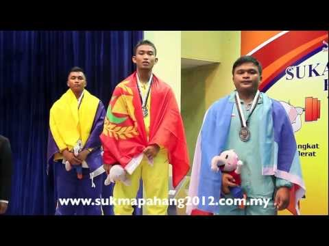 Acara Angkat Berat Snatch Kategori Lelaki 85 Kg 12/7/2012