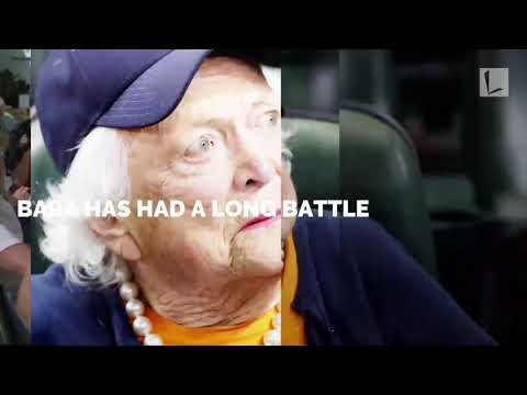 92-Yr-Old Barbara Bush Gives Up On Serious Illness, Refusing Further Medical Treatment