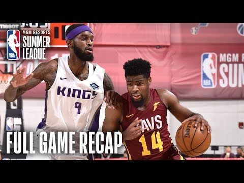 Video: CAVALIERS vs KINGS | Malik Newman Shines in OT Thriller | MGM Resorts NBA Summer League