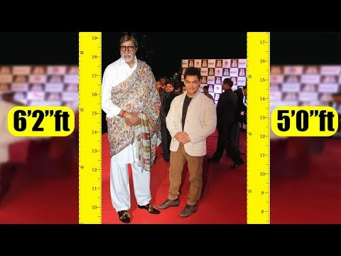 Video Shortest to Tallest all Bollywood actors Real height download in MP3, 3GP, MP4, WEBM, AVI, FLV January 2017