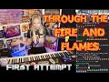 Download Lagu Through the Fire and Flames: 1st time Listen and Learn: A HOT MESS Mp3 Free