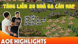 Trận đấu cầm Assy tăng BA điên cuồng của No1 | AoE Highlight