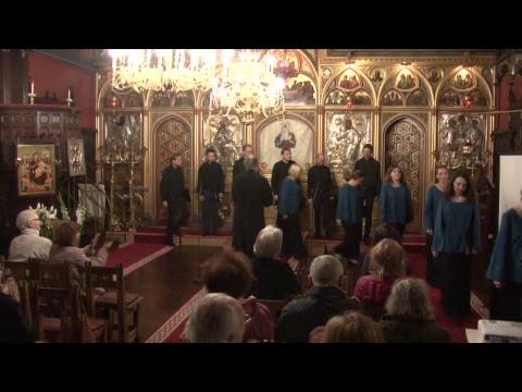 22.10.2017 Cathédrale Roumaine de Paris: Concert Chants Liturgiques (association MENAS Togo)
