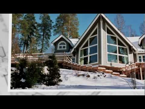 Maison bois private 4rum for Maison en bois finlandaise