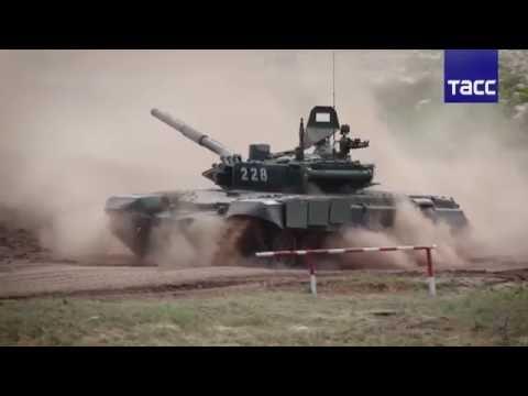 Танкисты ЦВО оценили в условном бою под Оренбургом новые Т-72Б3 (видео)