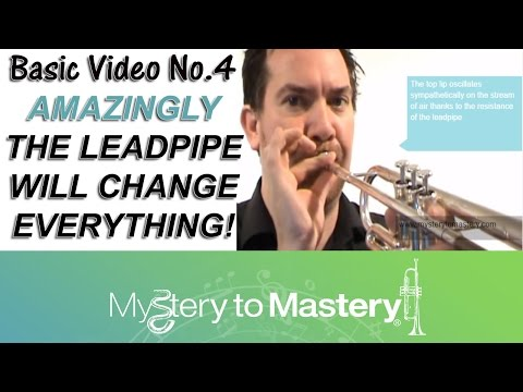 Trumpet Lesson 4 - Lead Pipe 08/06/11