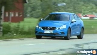 2013 Volvo S60 T6 R-Design Polestar AWD Test Drive&European Sports Sedan Car Video Review