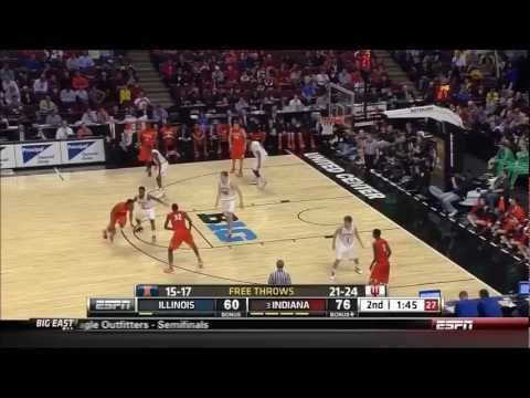 March Madness: Victor Oladipo 360 Dunk Versus Illinois in Big 10 Tournament
