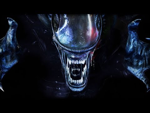 RANDOM TITLE ABOUT XENOMORPHS   Alien VS Predator 2000 (Alien Campaign Part 3) (видео)