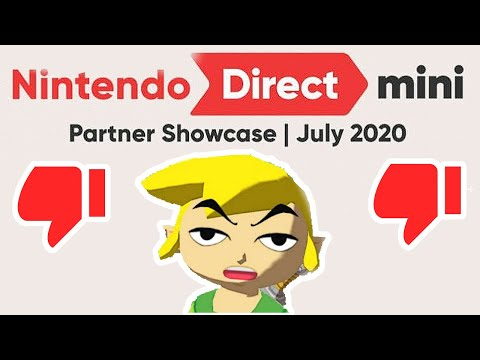 Nintendo's Direct was Mass Disliked? Good!