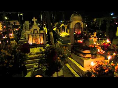 Oaxaca Dia De Los Muertos Cemetery Festivities 2015 Mexico