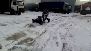 Снегоуборщик мотоблок мб 2 м и прицеп