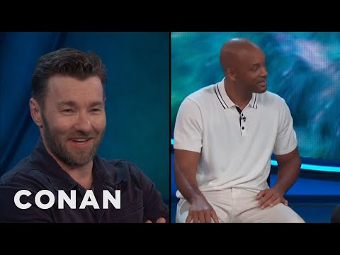 Joel Edgerton: People Never Stop Screaming For Will Smith  - CONAN on TBS (видео)
