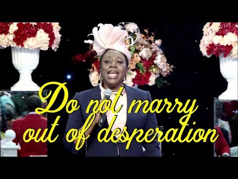 Dr Becky Paul-Enenche - DO NOT MARRY OUT OF DESPERATION