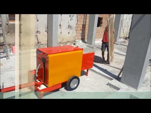 three play formwork shuttering panels cleaning machine Paoloni made puliscipannelli