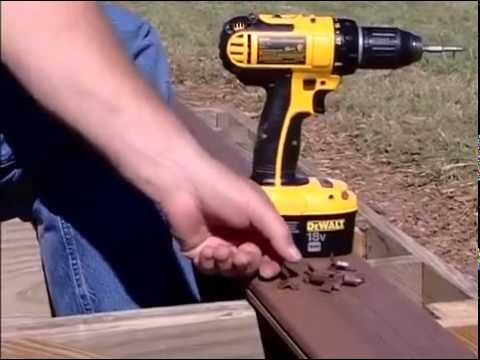 TimberTech Decking Installation using CONCEALoc Hidden Fastener Low