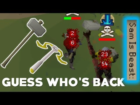 Armadyl Crossbow To Gmaul Pure Pking - OSRS OVERPOWERED COMBO
