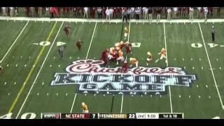 David Amerson vs Tennessee (2012)